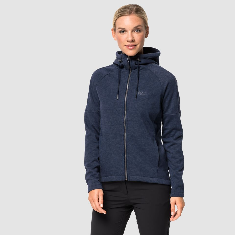 quality design 1a498 f902a Jack Wolfskin SKY THERMIC HOODED JKT WOMEN Fleece jacket women – JACK  WOLFSKIN