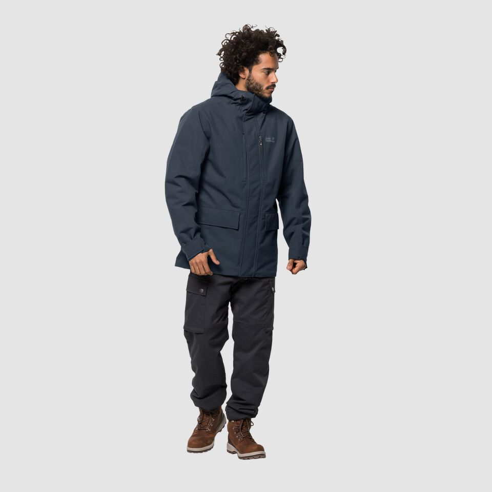 popular brand discount shop online here Jack Wolfskin WEST COAST JACKET Winter hardshell men – JACK WOLFSKIN