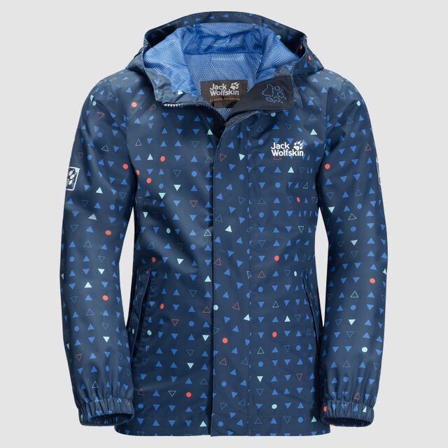 TUCAN DOTTED JACKET KIDS