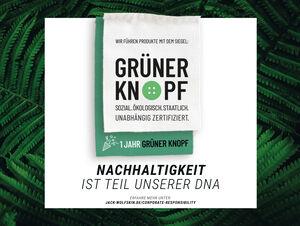 """JACK WOLFSKIN completes certification process for ecolabel """"Grüner Knopf"""""""