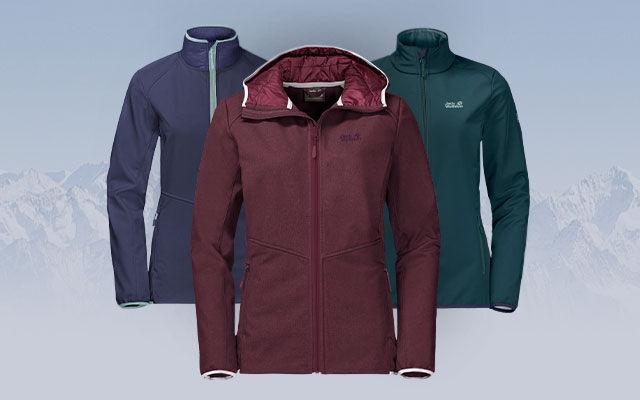 Women Softshell jackets