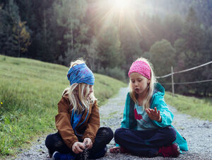 KIDS – HAPPIEST AT HOME IN THE OUTDOORS