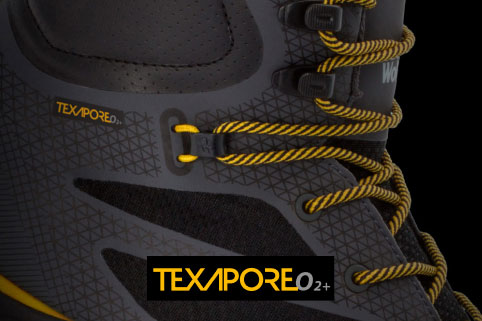 Tried-and-tested Texapore O2+ material banner