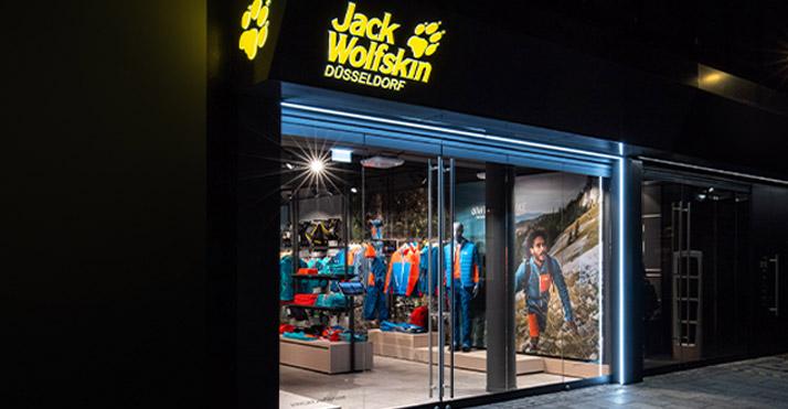 Jack Wolfskin store Düsseldorf