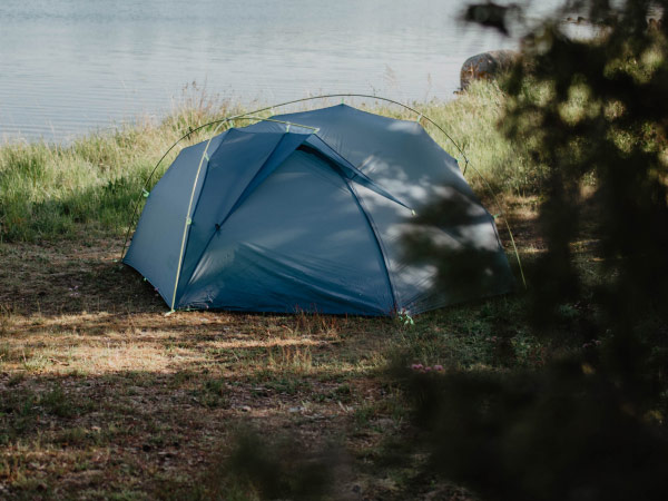 Tent in the great outdoors